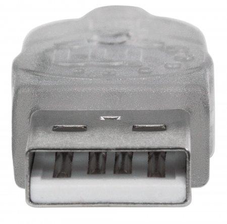 Hi-Speed USB 2.0 Verlängerungskabel MANHATTAN USB 2.0, A 340496 (BILD5)