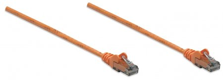 Netzwerkkabel, Cat6, UTP INTELLINET RJ45 Stecker / RJ45 Stecker, 10,0 m, Orange