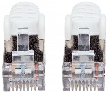 Cat6 (PIMF) Patchkabel INTELLINET 2 x RJ45, Vergossen, 3,0 m, Weiß