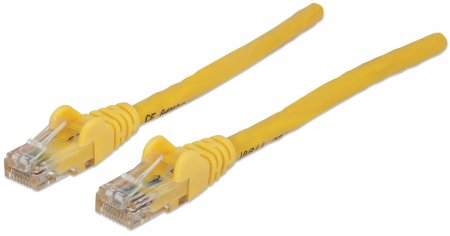 Network Cable, Cat6, UTP - , RJ-45 Male / RJ-45 Male, 0.3 m (1 ft.), Yellow