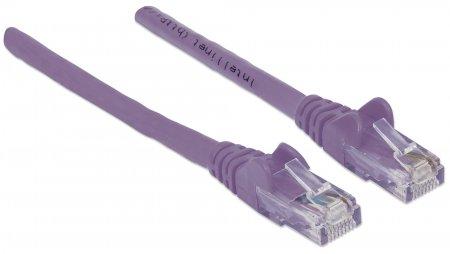 Netzwerkkabel, Cat6, UTP INTELLINET RJ45 Stecker / RJ45 Stecker, 5 m, Violett