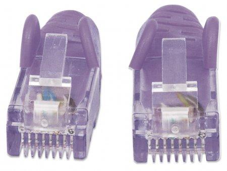 Netzwerkkabel, Cat6, UTP INTELLINET RJ45 Stecker / RJ45 Stecker, 7.5 m, Violett