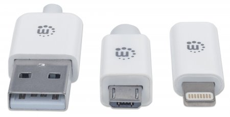 ... iLynk Lightning Adapter and Micro-USB Cable ...  sc 1 st  Manhattan Products & Manhattan Products - iLynk Lightning Adapter and Micro-USB Cable ... azcodes.com