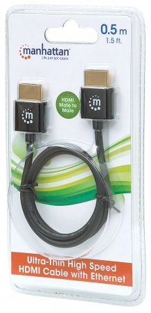 Ultra-thin Premium High Speed HDMI Cable with Ethernet
