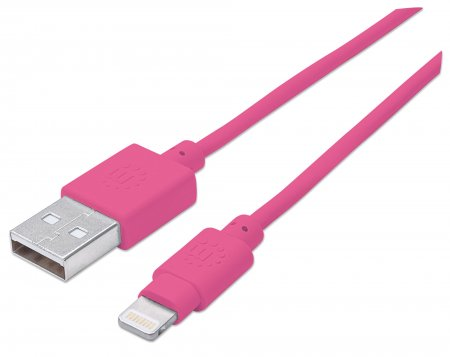 iLynk Lightning auf USB Kabel für iPad/iPhone/iPod MANHATTAN A-Stecker - 394420