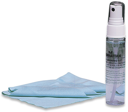 LCD Cleaning Kit - , Alcohol-free, Includes Cleaning Solution and Anti-microbial Cloth, Lavender Scent