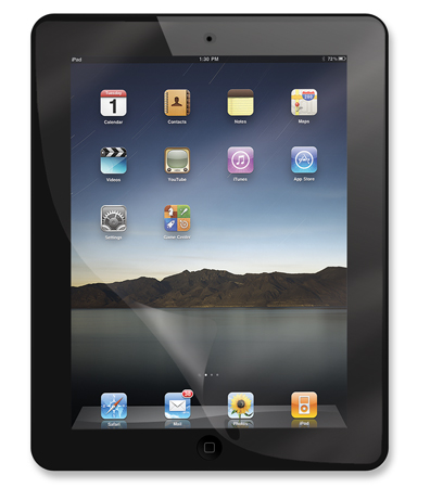 CrystalFilm SR - , Smudge-Resistant Screen Protector for Your iPad