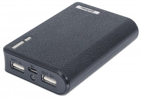 Power Bank 6K - Provides up to 6,000 mAh for Charging Portable Devices, Portable Lithium-ion Battery, Dual USB Output, 6000 mAh