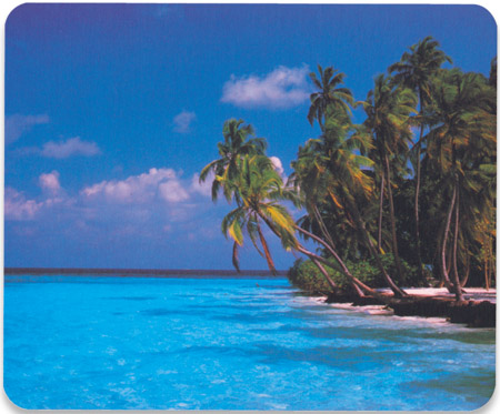 Designer Mouse Pad - Maldives - , Maldives