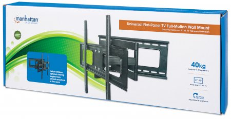 Universal Flat-Panel TV Full-Motion Wall Mount