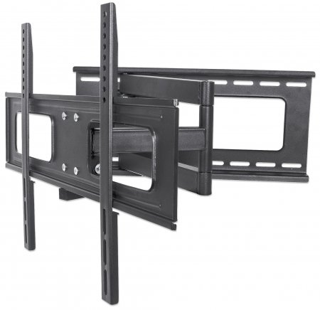 "Universal Flat-Panel TV Full-Motion Wall Mount - , Single Arm Supports One 37"" to 70"" Television up to 40 kg (88 lbs.)"