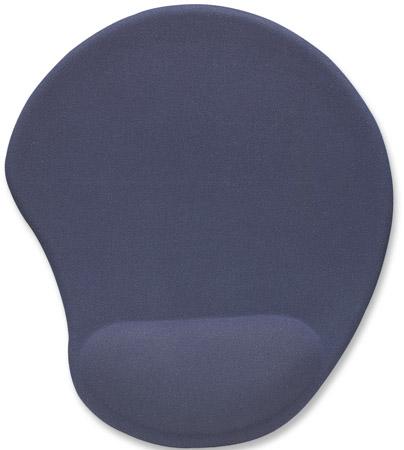 Ergonomisches Gel Mauspad MANHATTAN Ergonomisches Gelkissen erhöht den Komfort bei der Mausbedienung