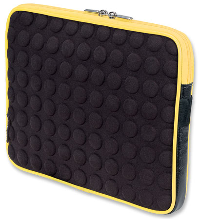 Universal Tablet Bubble Case - , Universal Yellow/Black Tablet Case