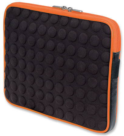 Universal Tablet Bubble Case - , Universal Orange/Black Tablet Case