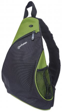 """Dashpack - Lightweight Sling Bag for Tablets and Ultrabooks up to 12"""", Lightweight, Sling-style Carrier for Most Tablets and Ultrabooks up to 12"""", Black/Green"""
