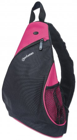 "Dashpack - Lightweight Sling Bag for Tablets and Ultrabooks up to 12"", Lightweight, Sling-style Carrier for Most Tablets and Ultrabooks up to 12"", Black/Pink"