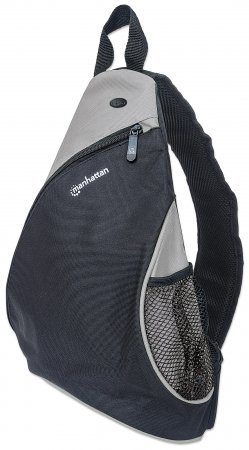 """Dashpack - Lightweight Sling Bag for Tablets and Ultrabooks up to 12"""", Lightweight, Sling-style Carrier for Most Tablets and Ultrabooks up to 12"""", Black/Light Gray"""