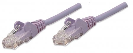 Network Cable, Cat5e, UTP - , RJ-45 Male / RJ-45 Male, 3.0 m (10 ft.), Purple