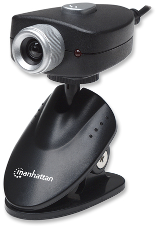 Webcam 500 - , 5 Megapixel (2560 x 1920 )CMOS USB Webcam with Adjustable Clip Base and Integrated AMCap Image Enhancement Software
