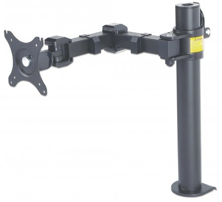 LCD Monitor Mount with Double-Link Swing Arm - , Supports one LCD monitor up to 30""