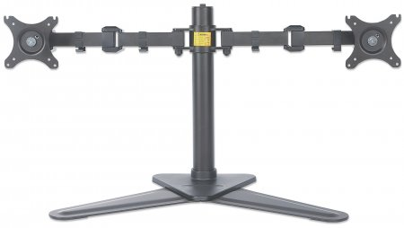 LCD Monitor Stand with Double-Link Swing Arms