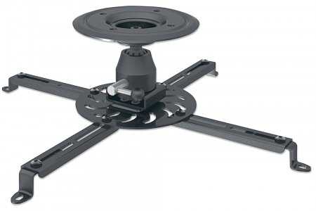 Universal Projector Ceiling Mount - , Holds up to 25 kg (55 lbs.); Adjustment Options to Tilt, Swivel and Rotate; Black