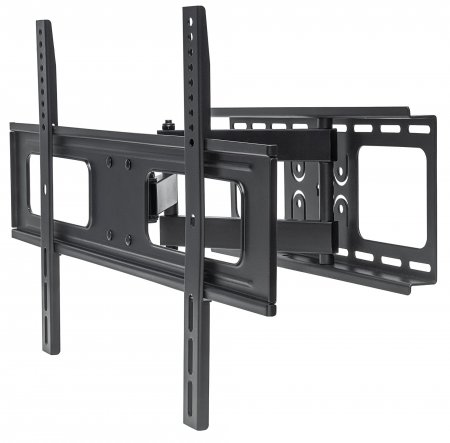 "Universal Flat-Panel TV Full-Motion Wall Mount - , Single Arm Supports One 37"" to 70"" Television up to 50 kg (110 lbs.)"