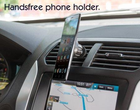 Kfz-Halterung mit Magnetpad für Smartphones MANHATTAN 461504 (BILD6)