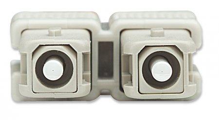 Glasfaser LWL-Anschlusskabel, Duplex, Multimode INTELLINET SC/SC, 62,5/125 µm, OM1, 20 m, orange