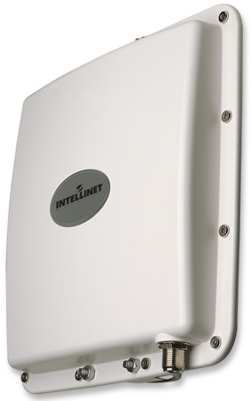 Direktionale Panel-Hochleistungsantenne 2,4 GHz, 15 dBi, IP68 INTELLINET