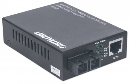Gigabit Ethernet Single Mode Media Converter