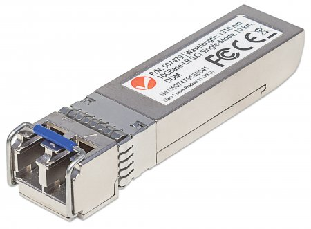 10 Gigabit Fiber SFP+ Optical Transceiver Module - , 10GBase-LR (LC) Single-Mode Port, 10 km (6.2 mi.)