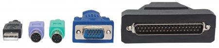 1-Port VGA-Kabel für KVM-Konsole INTELLINET Zur mit oder 507769 (BILD3)