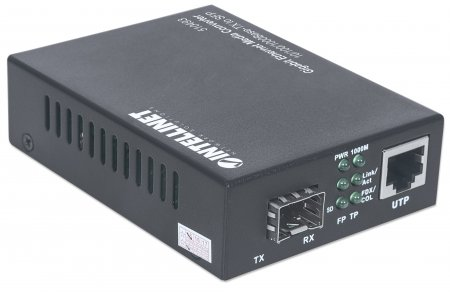 Gigabit Ethernet to SFP Media Converter
