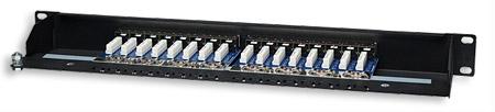 16-Port Cat5e Patchpanel, geschirmt INTELLINET FTP, 1 90 513470 (BILD3)