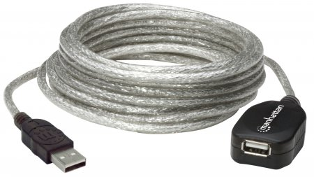 Hi-Speed USB Active Extension Cable - , Daisy-Chainable, A Male / A Female, 5 m (16 ft.)