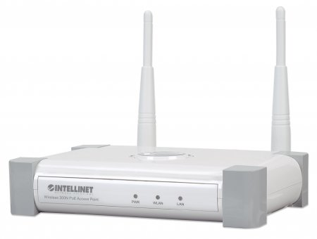 Wireless 300N PoE Access Point - Enhance the Range, Speed and Performance of your Wireless Network, 300 Mbps, MIMO, PoE Support, Bridge, Repeater, Multiple SSIDs and VLANs