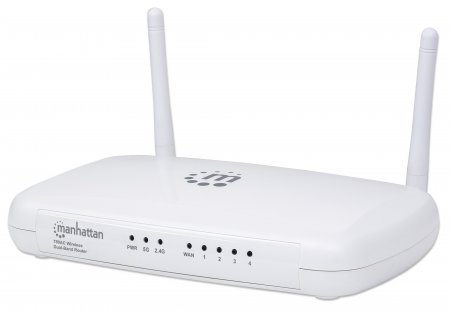 AC750 Wireless Dual-Band Router - 300 Mbps Wireless N (2.4 GHz) + 433 Mbps Wireless AC (5 GHz), QoS, 4-Port LAN , 300 Mbps Wireless N (2.4 GHz) + 433 Mbps Wireless AC (5 GHz), QoS, 4-Port LAN Switch