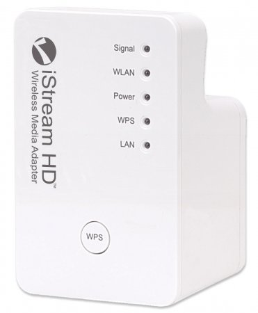 iStream HD Wireless Range Extender - Wireless Signal Booster and Repeater for your Wireless Home Network, 300 Mbps, 802.11b/g/n, 2T2R MIMO Wireless Repeater and Signal Booster
