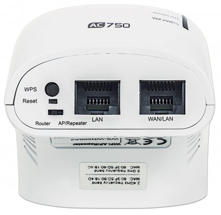 Wireless AC750 Dual-Band Range Extender