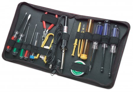 Technician Tool Kit - , Computer Tool Kit, 17 pieces