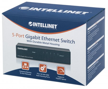 5-Port Gigabit Ethernet Switch