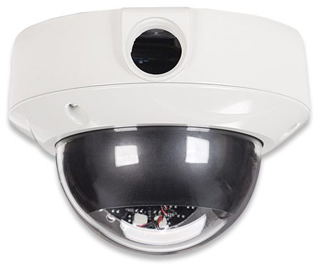 IDC-757IR Outdoor Night Vision Megapixel Network Dome Camera