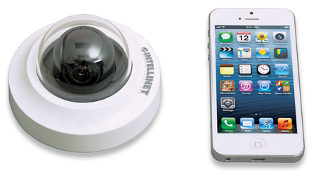 IDC-862 HD 2 Megapixel Network Mini-Dome Camera