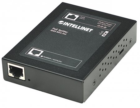 Power over Ethernet (PoE+) Splitter - , IEEE802.3at, 5, 7.5, 9 or 12 V DC output voltage