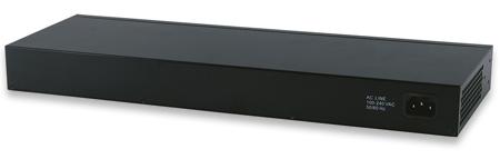 24-Port Web-Managed Gigabit Ethernet Switch with 4 SFP Ports