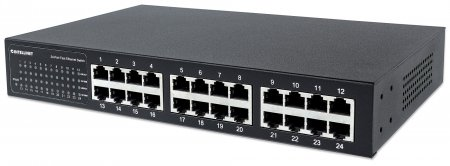 24-Port Fast Ethernet Switch - , Desktop/Rackmount, IEEE 802.3az (Energy Efficient Ethernet)