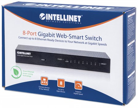 8-Port Gigabit Web-Smart Switch