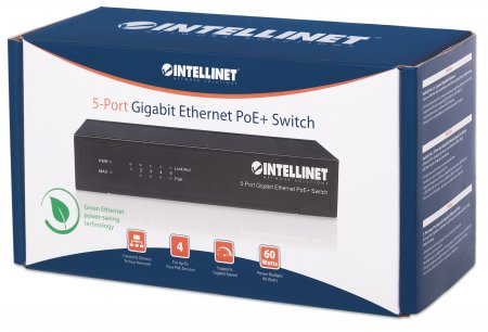 5-Port Gigabit Ethernet PoE+ Switch