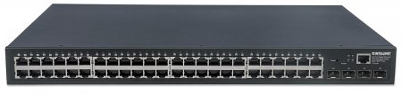 48-Port Gigabit Ethernet Web-Managed Switch with 4 SFP Ports